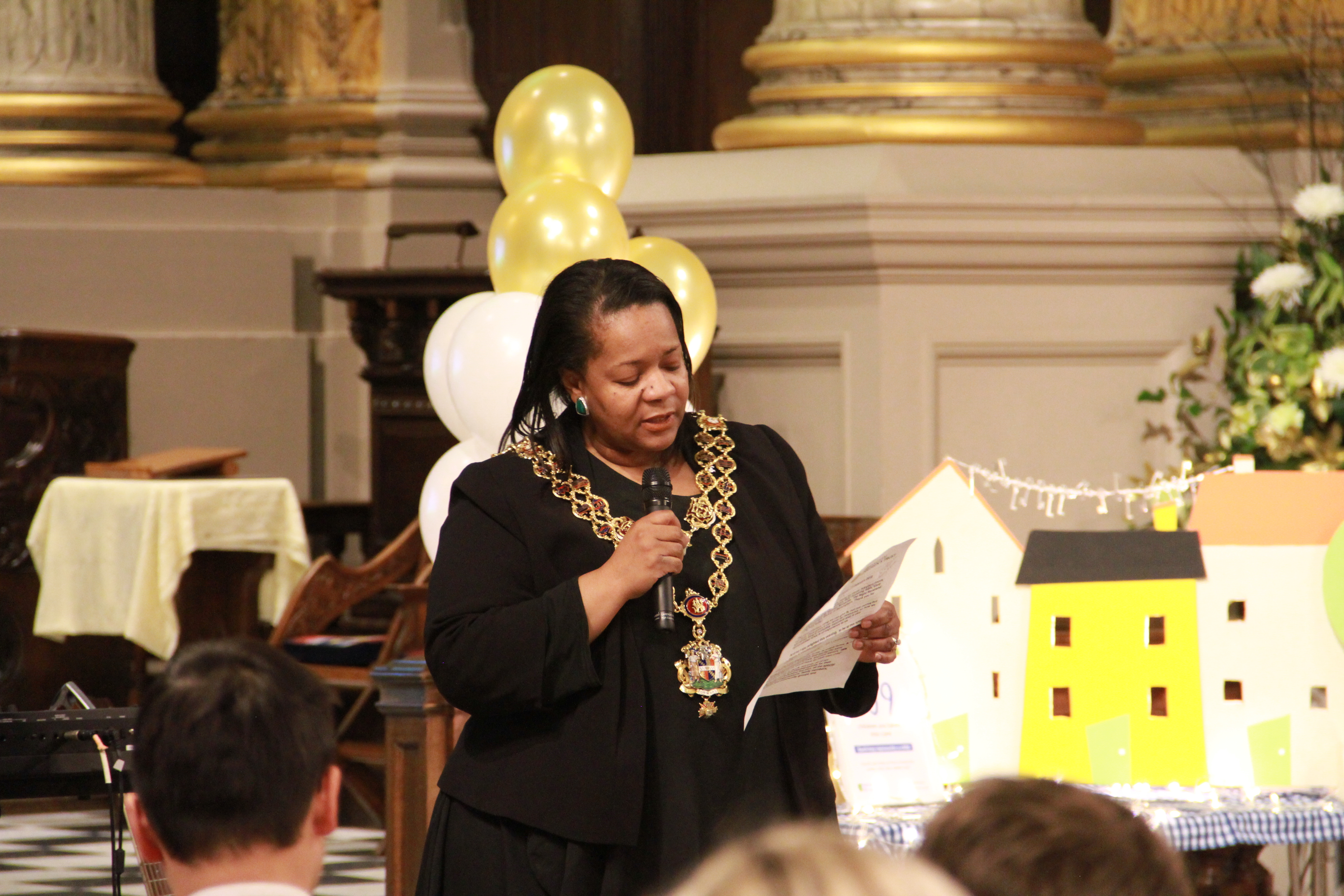 Lord Mayor at Birmingham Cathedral